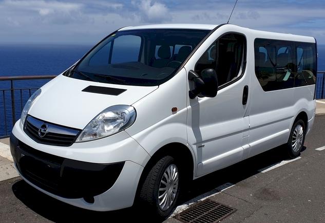 Opel Vivaro de 9 plazas